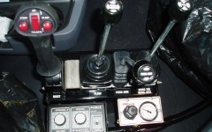 Joystick and Lever controls by .