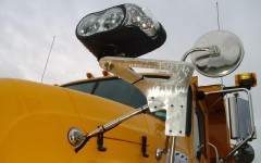 Towmaster Plow Light Mount by .