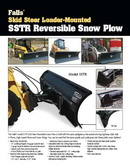 SSTR Skid Steer Snow Plow_Page_1 by .